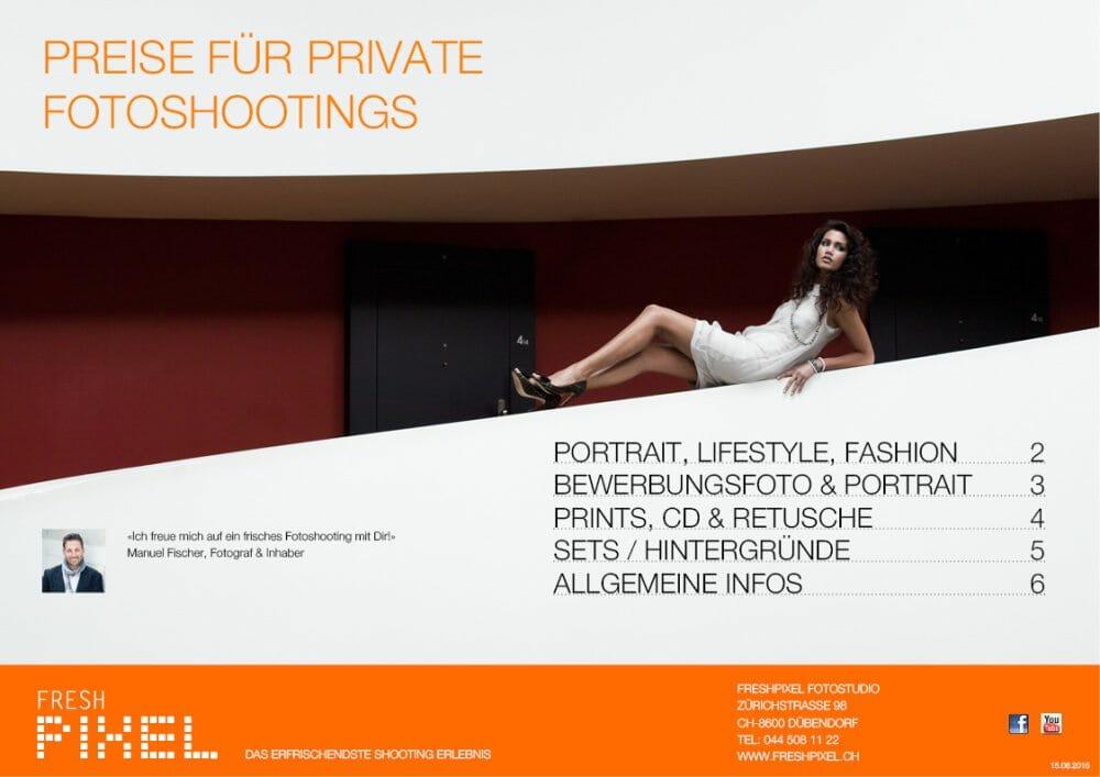 Preise Lifestyle Shootings