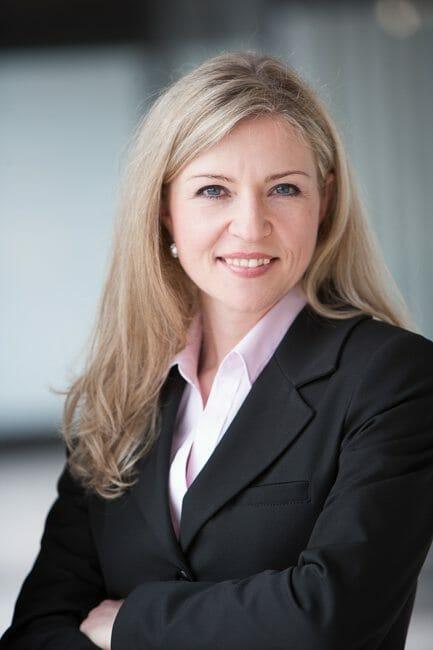 Frau Business CV Bewerbung Portrait
