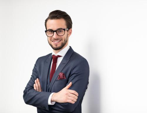 Mann CV Business Portrait