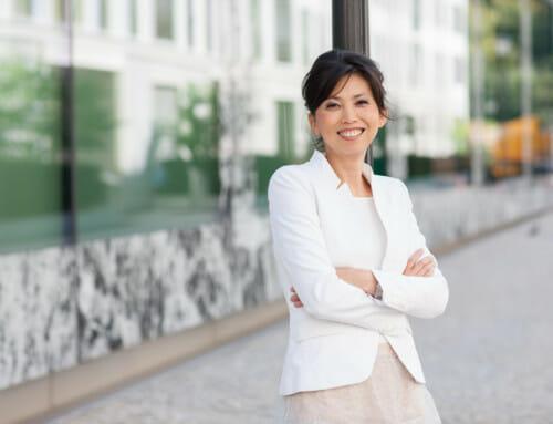 Business Frau Outdoor