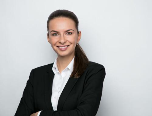 Bewerbungsfoto Portrait Frau