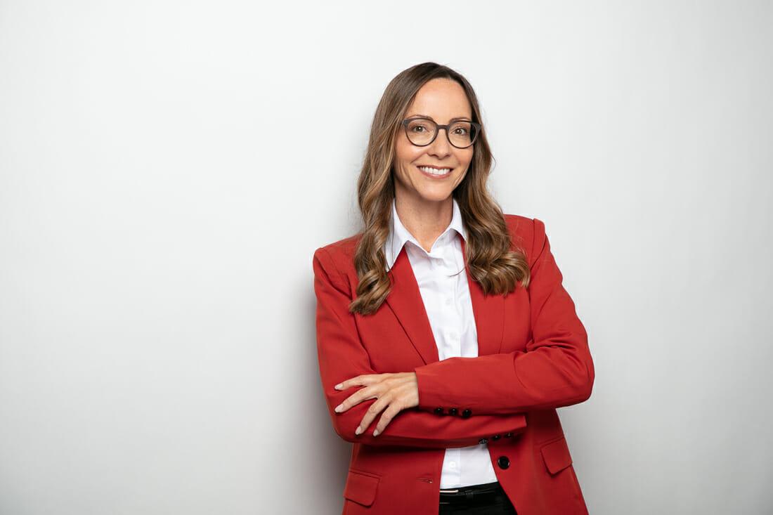 Business Frau Portrait CV Bewerbung