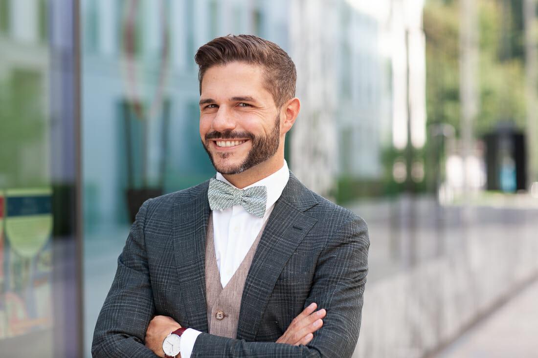 Business Portrait Fotos buchen