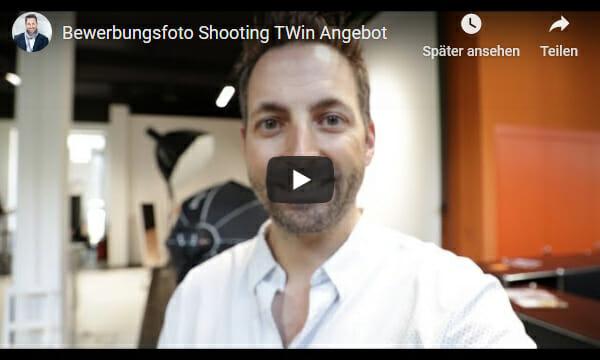 Youtube Twin Bewerbungsshooting Aktion